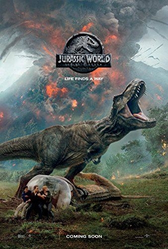JURASSIC WORLD FALLEN KINGDOM MOVIE POSTER 2 Sided ORIGINAL Advance Version C 27x40 CHRIS PRATT