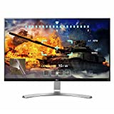 LG 27UD68-W 27-Inch 4K UHD IPS Monitor with FreeSync, Silver/White