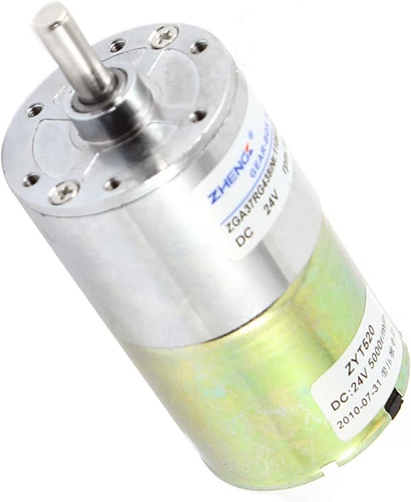 Aexit DC 24V Electric Motors 10RPM Dia Minneapolis Mall Magne Cylinder 6m_m Shaft Boston Mall