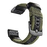 YOOSIDE für Fenix 5X/Fenix 6X QuickFit Armband, Nylon Ersatz Uhrenarmband Armbänder für Garmin...