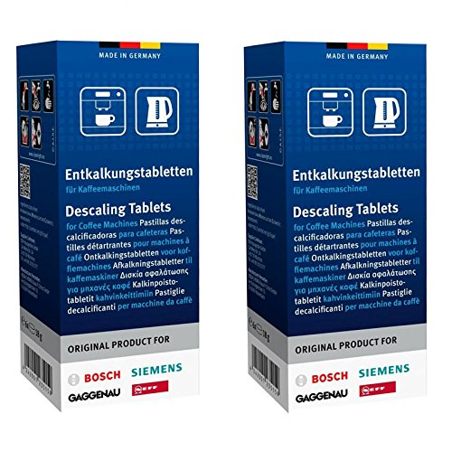 Genuine Bosch Tassimo Siemens Gaggenau Neff Coffee Machine Descaling Tablets by Bosch