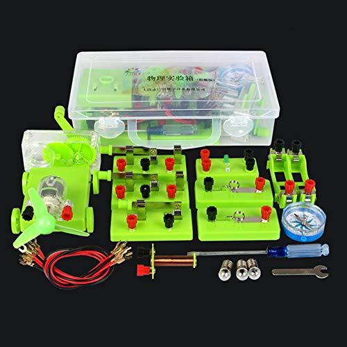 KingbeefLIU Circuito Básico Electricidad Magnetismo Kit De Aprendizaje Ayudas Físicas Física Educación...