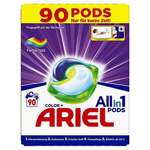 Ariel Ariel All-in-1 PODS Color-Farbschutz - 90Waschladungen, 2463 g