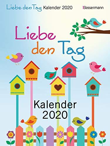 Liebe den Tag Kalender 2020: Gut gelaunt und motiviert in den Tag