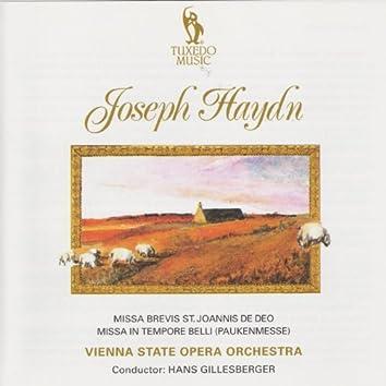 Haydn: Missa Brevis & Missa Intempore Belli