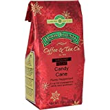 Door County Coffee, Holiday Flavored Coffee, Candy Cane Decaf, Peppermint Flavored Coffee, Medium Roast, Ground Coffee, 8 oz Bag