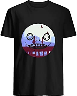 Nier Automata 2B and 9S Emil Face 85 T shirt Hoodie for Men Women Unisex