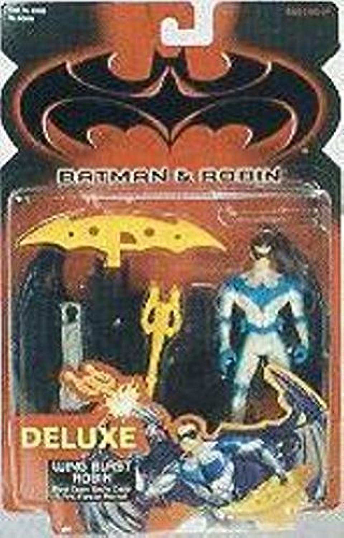 Batman & Robin Deluxe Wing Blast Robin by Kenner
