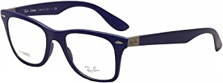 RAY BAN Eyeglasses RX 7034 5439 Matte Dark Blue 50MM
