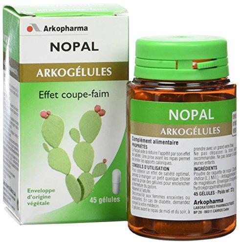 Arkopharma Phytothérapie Standard Arkogélules Nopal Flacon de 45 Gélules