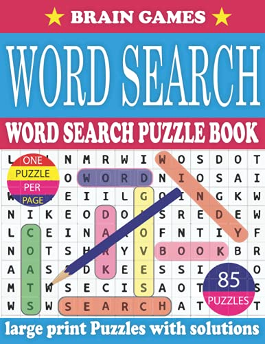 Word Search Puzzle Book For Adults: Large Print Word Search Puzzle Book for Adults to Enjoying Leisure Time With Solutions (Vol. 24)