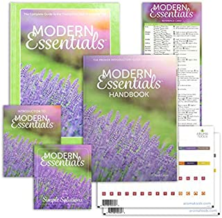 Modern Essentials 10th Ed. Bundle, Essential Oil Reference Books with doTERRA Oil Names, ME Hardcover, ME Handbook, Index Tabs (2 one per Book), Intro to Me, Reference Card & ME Simple Solutions