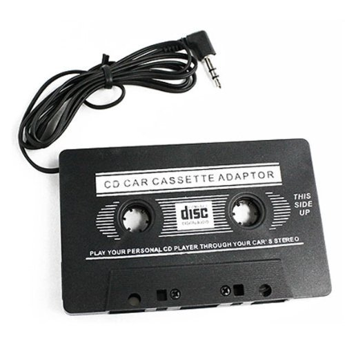 Generic Car Cassette Tape Adapter for iPod CD Video Black Creative Product