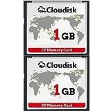 Cloudisk 2X CF-Karte Compact Flash 1 GB Speicherkarte Leistung für