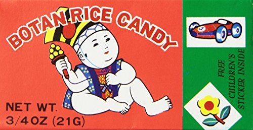 Botan Rice Candy for 6 Packs