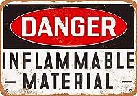 危険物 金属板ブリキ看板警告サイン注意サイン表示パネル情報サイン金属安全サイン