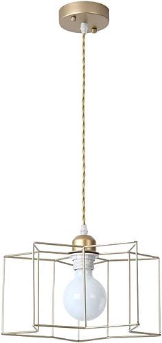 Lustre en fer Lustre à LED à une tête fixe en fer forgé