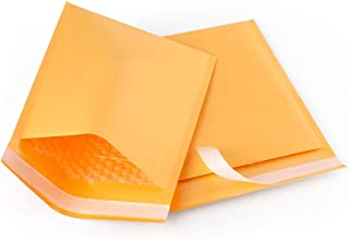4 x 8 Inch #000 Economic Grade Kraft Bubble Padded Envelopes Mailers 500KF #000 (1000)