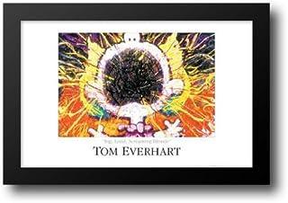 Big, Loud, Screaming Blonde 40x28 Framed Art Print by Everhart, Tom