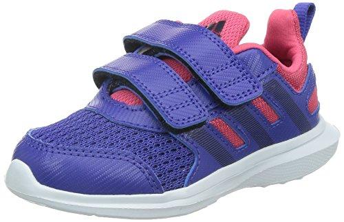 adidas , Mädchen Laufschuhe, Mehrfarbig - Azul/Azul Marino/Rosa - Größe: 25