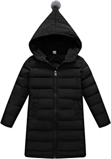 Baby Hooded Down Coat Children Windproof Jacket Kids Warm Padded Overcoat