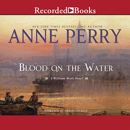 Blood on the Water audiobook cover art