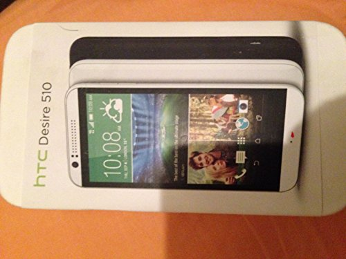 HTC Desire 510SIM-Free Smartphone–Metal Grey, [UK Import]