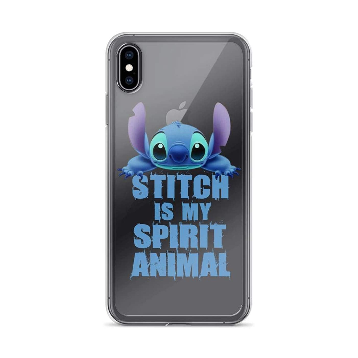 iPhone 6/6s Pure Clear Case Cases Cover Stitch is My Spirit Lilo and Stitch TV Cartoon Series Animal Gift