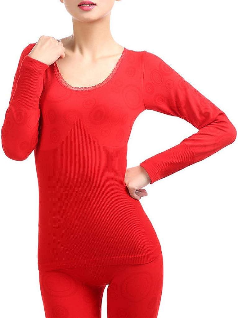 Womens Thermal Underwear Set Ultra Thin Layer Neck Crew Product Kansas City Mall Base Str