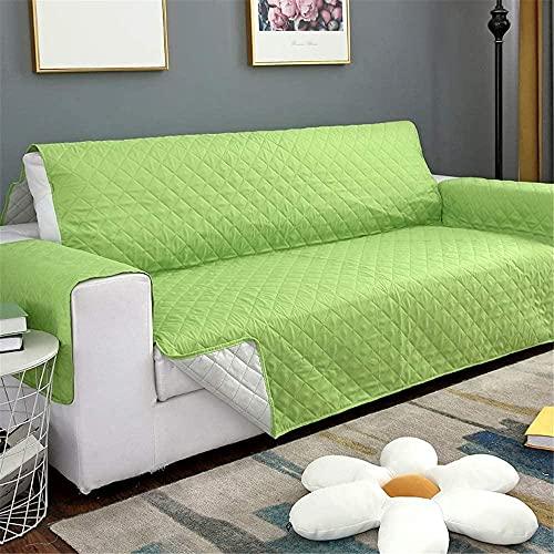 ADIS Funda de sofá impermeable extraíble para mascotas y niños, protector de muebles, lavable, fundas de sofá de 1/2/3 asientos-L_190 x 195 cm