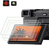 The Tempered Glass Film Fit for Sony alpha A6600 A6100 A6400 A6000 A6300 A5000 Nex-7 NEX-6 NEX-5 NEX-6 NEX-6L NEX-3N perfectly. Edge to edge, easy to install.NOT suitable for A6500 Touch screen is still fully functional with PCTC Tempered Glass Film....
