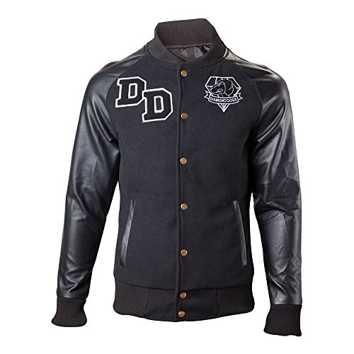 Metal Gear Solid V 1984 Big Boss Varsity Jacket - Large [import anglais]