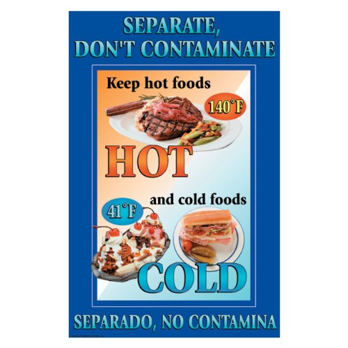 """DayMark Separate, Don't CONTAMINATE Poster 11"""" x 17"""""""