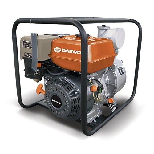 Motobomba a Gasolina Daewoo GAE100 7hp -, 4  Aguas limpias
