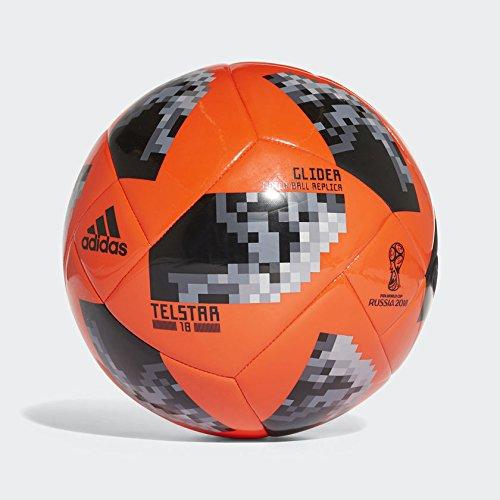 adidas Herren World Cup Glide Ball, SONNENROT/SCHWARZ/Plamet, 37