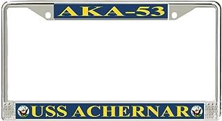 MilitaryBest USS Achernar AKA-53 License Plate Frame