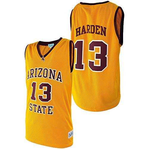Elite Fan Shop James Harden Retro Arizona State Basketball Jersey - XX-Large - James Harden Gold