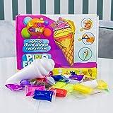 Plastilina modelada 70039 Soft Knete Pino Friend Helado juguete para niños idea de regalo adecuado para niñas y niños mayores de 3 años