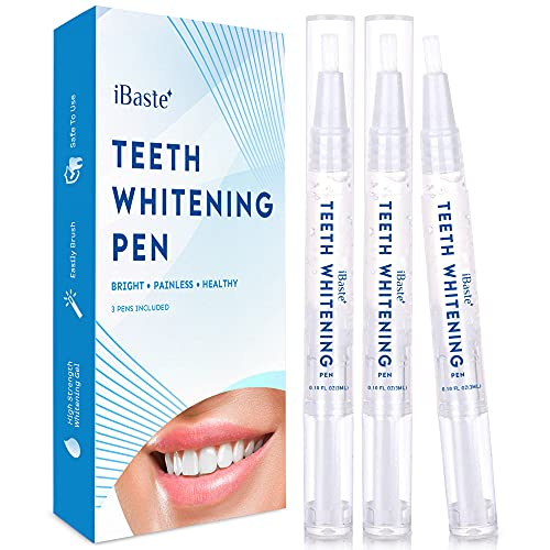 Teeth Whitening Pen - 3 Pens - Effective & Painless Whitening - Perfect for Sensitive Teeth - 35% Carbamide Peroxide, No Sensitivity, Travel-Friendly, Natural Mint Ingredient