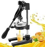 Moongiantgo Exprimidor manual de exprimidor de cítricos exprimidor de granada naranja limón limón exprimidor de frutas máquina exprimidor