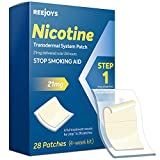 Nicotine Patches to Quit Smoking, Anti-Smoking Patch, Step 1 Stop Smoking Aid, 21mg