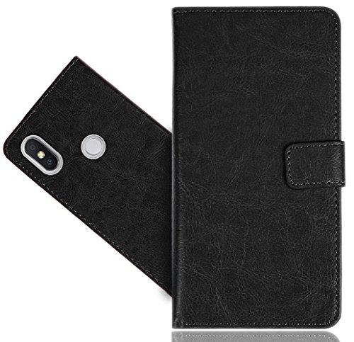 Xiaomi Redmi S2 Handy Tasche, FoneExpert® Wallet Hülle Cover Genuine Hüllen Etui Hülle Ledertasche Lederhülle Schutzhülle Für Xiaomi Redmi S2