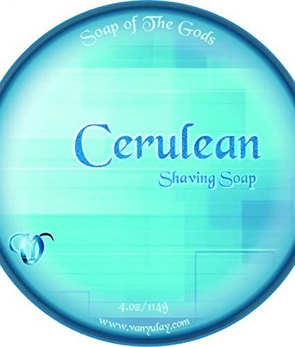 Cerulean Natural Shaving Soap Phoenix Mall Nourishing 4.0 oz with Ranking TOP10 Shea Butter