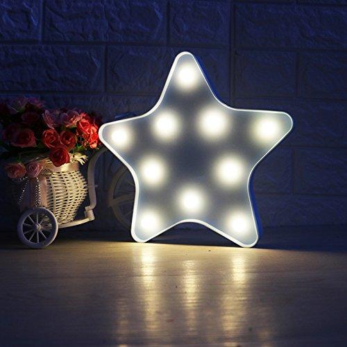 Moderne sterren/maan mini-led-wandlamp, energiebesparende meerkleurige lay-out verfraaiing wandlamp lamp lamp voor kinderkamer verjaardagsfeest restaurant (niet meegeleverd)