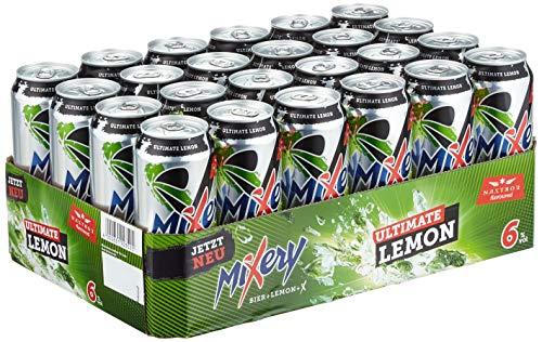 MiXery Ultimate Lemon Biermischgetränk Bier plus X, EINWEG (24 x 0.5 l)