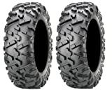 Pair of Maxxis BigHorn 2.0 Radial 25x8-12 ATV Tires (2)