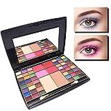 HJSMZ 54 Colores Paleta de Sombras de Ojos Brillantes Paleta de...