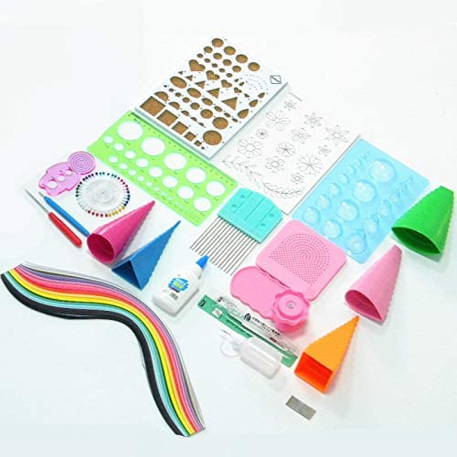 Beauty products HARIKA - WYSE OFFicial mail order 19pc Scrapbooking Starter Quilling Tool Set Paper