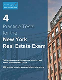 4 Practice Tests for the New York Real Estate Exam: 300 Practice Questions with Detailed Explanations