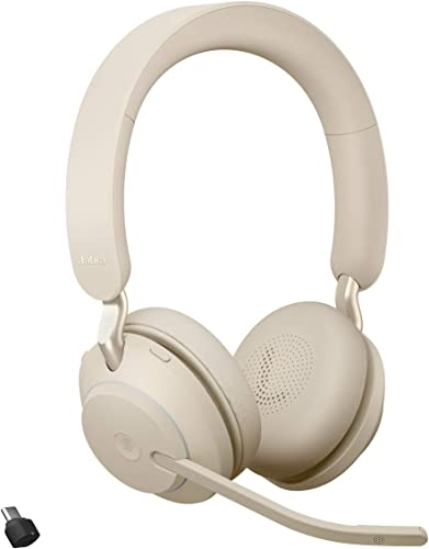 high quality Jabra Evolve2 65 USB-C MS Stereo - Beige new arrival Wireless Headset/Music sale Headphones outlet sale